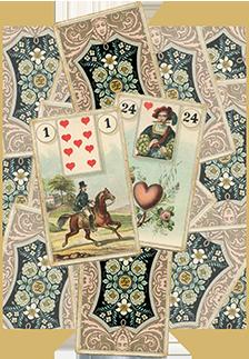 Зачения карт Ленорман: Всадник в отношениях и любви