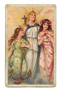 Вера, Надежда, Любовь (Крест, Якорь, Сердце)