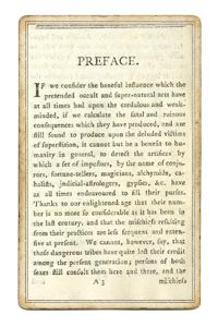 Книга 1796 года, предисловие
