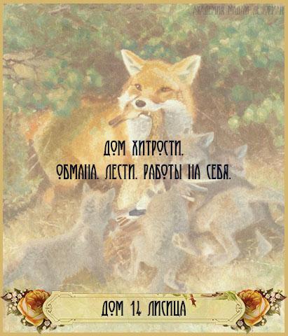 Дом лисы в Большом раскладе Ленорман