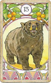 Ленорман Арт-Нуво,  Медведь
