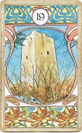 Ленорман Арт-Нуво,  Башня