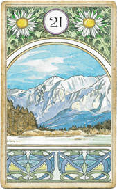 Ленорман Арт-Нуво,  Гора