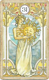 Ленорман Арт-Нуво,  Солнце