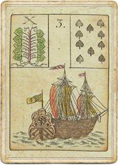 Ленорман - Игра Надежды, Корабль