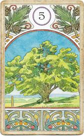Ленорман Арт-Нуво, Дерево