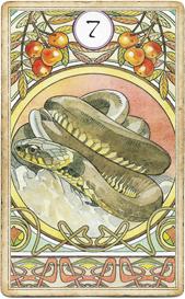 Ленорман Арт-Нуво, Змея