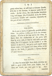 Тучи в Книге О трех милых занятных играх, основанных на гадании по кофейной гуще. 1796 год.