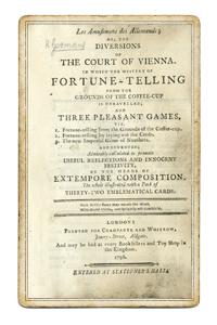 Книга о трех милых занятных играх, основанных на гадании по кофейной гуще. 1796 года