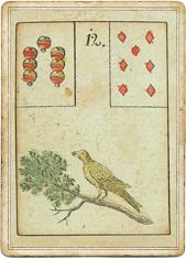 Птицы в колоде Ленорман «Игра Надежды»