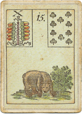 Ленорман - Игра Надежды, Медведь