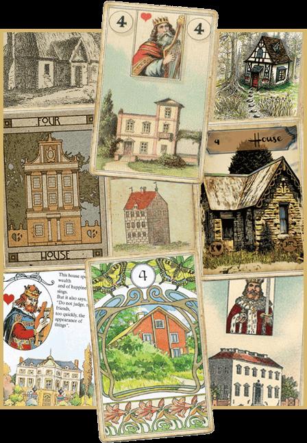 Зачение карты Ленорман Дом