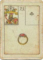 Ленорман - Игра Надежды, Кольцо