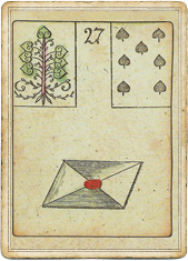 Ленорман - Игра Надежды, Письмо