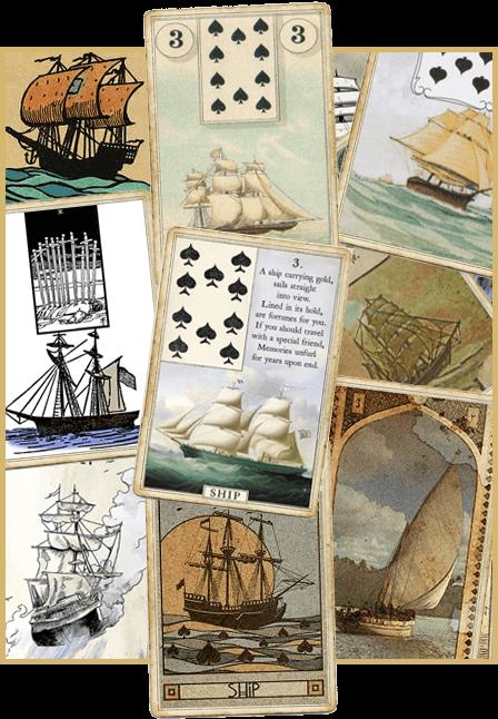 Зачение карты Корабль