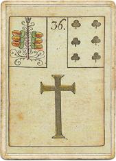 Ленорман - Игра Надежды, Крест
