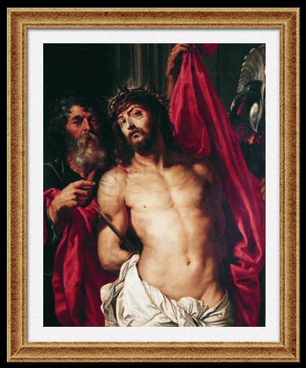 Христос в терновом венке Рубенс Питер Пауль