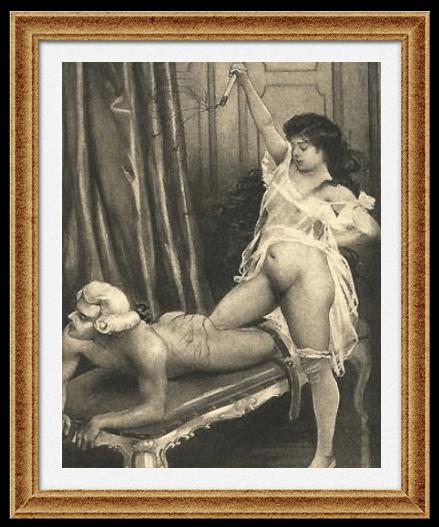 Эдуар Анри Авриль. Иллюстрация к книге: «Воспоминания Фанни Хилл» (Париж, 1887)