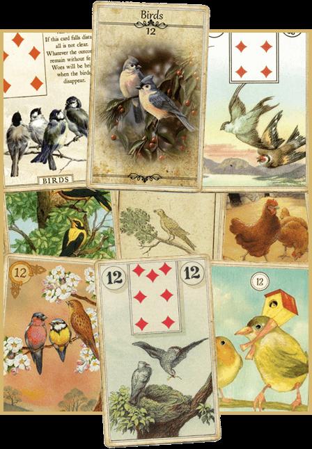 Зачение карты Ленорман Птицы