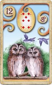Птицы в колоде «Магическая Ленорман»