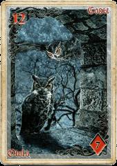Совы в колоде Ленорман «Тайны старого замка»