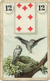 Птицы в колоде Ленорман Лауры Туан