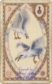 Птицы в колоде «Астрологическая Ленорман»