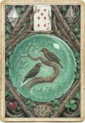 Птицы в колоде «Enchanted Lenormand»