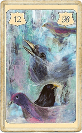 Птицы в колоде Ленорман Бритты Кинли