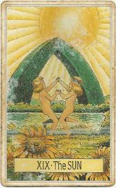 Дети в Таро на аркане Солнце