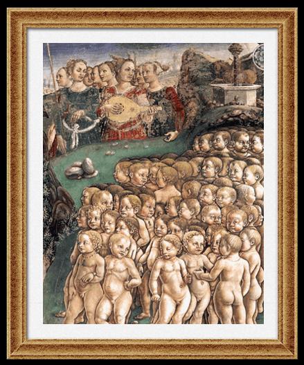 Аллегория мая. Триумф Аполлона (Франческо дел Коса)