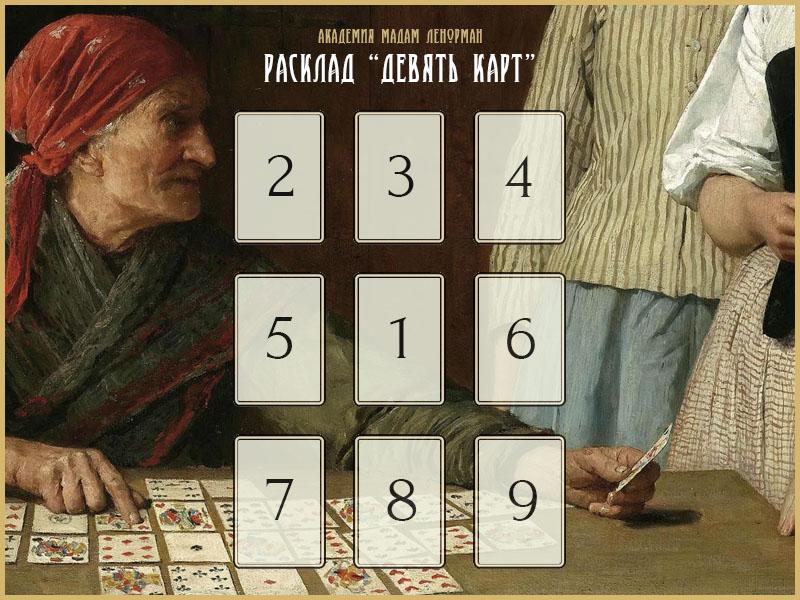 Расклад «Девять Карт»
