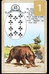 Ленорман Медведь