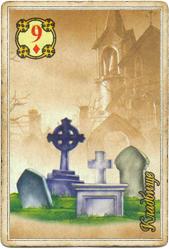 Ленорман Царский Путь, Гроб