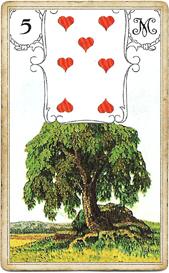 Ленорман Голубая Сова, Дерево