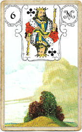Ленорман Голубая Сова, Тучи