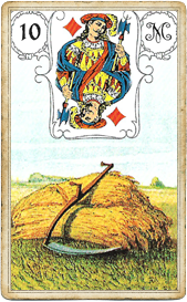 Ленорман Голубая Сова, Коса