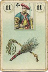 Ленорман Лауры Туан (Дондорф), Метла и Плеть