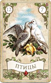 Оракул мадам Ленорман, Птицы