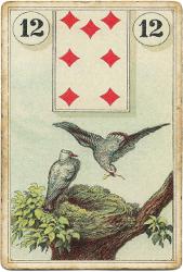 Ленорман Лауры Туан (Дондорф), Птицы
