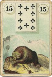 Ленорман Лауры Туан (Дондорф), Медведь