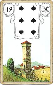 Ленорман Голубая Сова, Башня