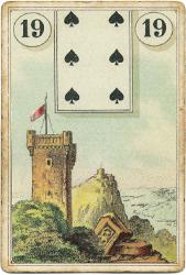 Ленорман Лауры Туан (Дондорф), Башня