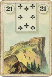 Ленорман Лауры Туан (Дондорф), Гора