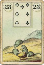 Ленорман Лауры Туан (Дондорф), Крысы