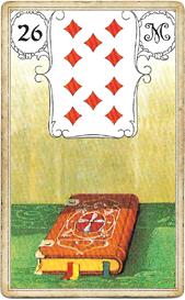 Ленорман Голубая Сова, Книга