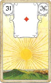 Ленорман Голубая Сова, Солнце