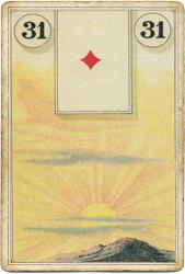 Ленорман Лауры Туан (Дондорф), Солнце