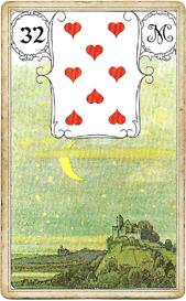 Ленорман Голубая Сова, Луна