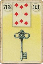 Ленорман Лауры Туан (Дондорф), Ключ